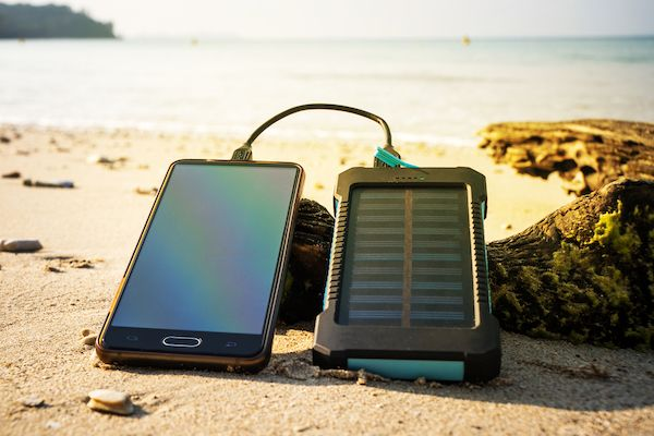 solar AA battery charger